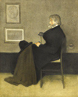 Paintings by the artist James Abbott McNeill Whistler