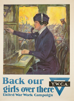 Back our girls over there, 1918