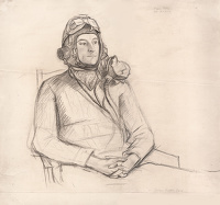Portrait of Flying Officer Roger Folley