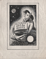 Ex Libris Hylda Roots – Design for...