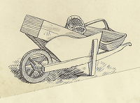 Wheelbarrow vignette design for...