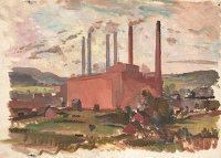 Sketch for Stourport Power Station I