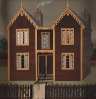 Artist Tirzah Garwood-Ravilious: Semi detached villas, circa 1945