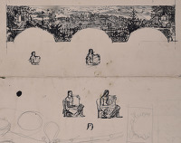 Study for the Brockley Murals