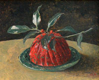 Artist Carolyn Sergeant: A Christmas Pudding, 1991