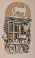 Artist Eric Ravilious: E. Smith, saddlers & harness makers
