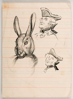 Artist Stanley Lewis: A Great Hare