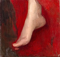 Study of a foot, early 1880's