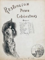 Peace Celebrations, Rustington, 1919