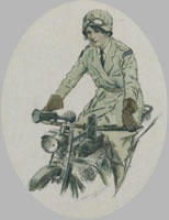 Royal Flying Corps Woman Dispatch Rider