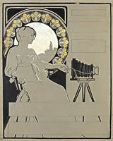 Design for a camera advertisement