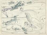 Study for The Attack on the Tirpitz...