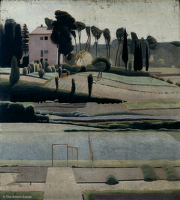 Artist Winifred Knights: A View to the East from the British School at Rome