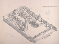 Artist Evelyn Dunbar and Charles Mahoney: Design for a Country Suburban Garden for Gardeners' Choice