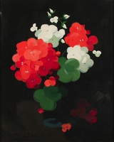 Artist James Stuart Park: Geraniums