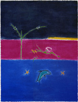 Paintings by the artist Craigie Aitchison