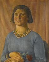 Portrait of a Girl with a Rose, 1939