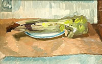 Still Life with Celery