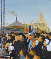 At Middleburg:The Kermis, August, 1913