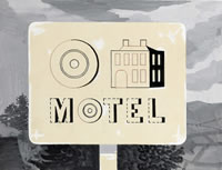 Artist Kenneth Rowntree: Motel, c. 1950s