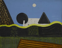 Abstract Landscape, Acomb, 1975