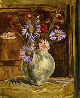 Paintings by the artist Vanessa Bell
