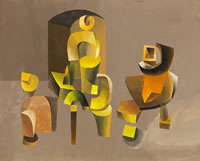 Abstract forms, circa 1968