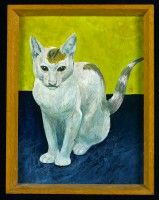 The Artist's Cat, Carmen,  circa 1955