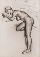 Study of Bending Female, circa